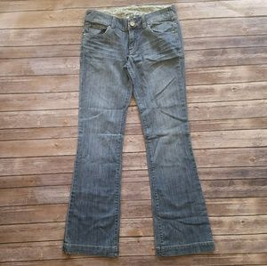 Anthropologie Level 99 Flare Jeans In Light Wash